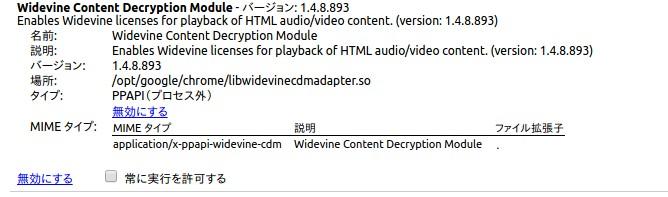 Widevine Content Decryption Module